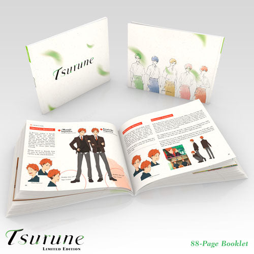 Tsurune Premium Box Set Art Booklet