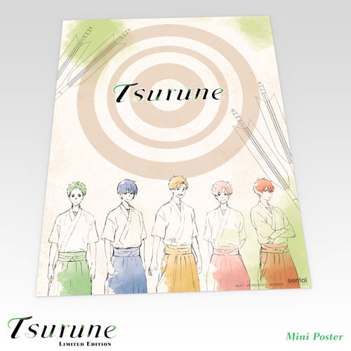 Tsurune Premium Box Set Mini Poster