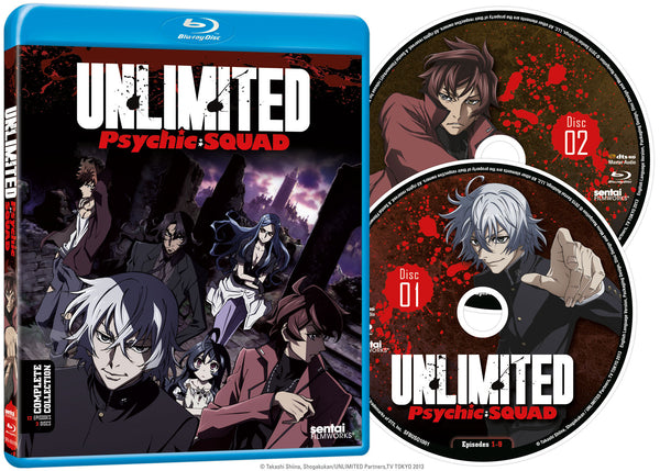 Psychic Squad, Unlimited Complete Collection