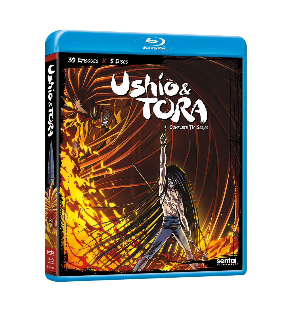 Ushio & Tora Complete Collection Blu-ray Front Cover