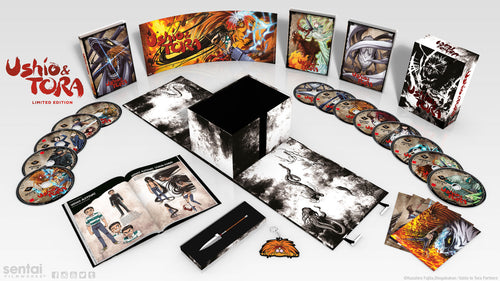 Ushio & Tora Premium Box Set Layout