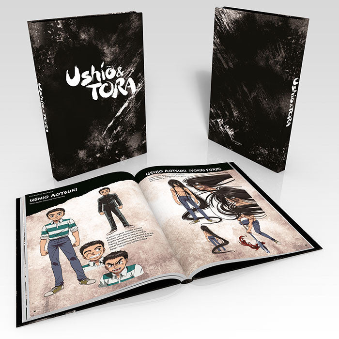 Ushio & Tora Premium Box Set Art Booklet