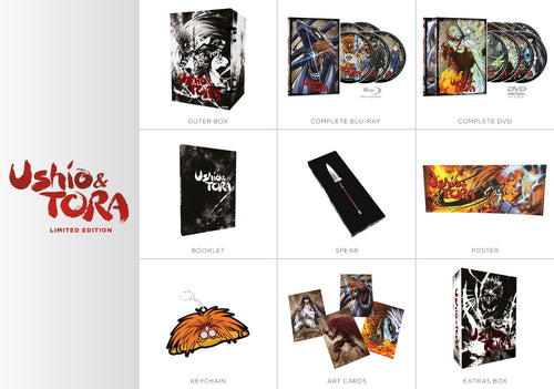 Ushio & Tora Premium Box Set Contents
