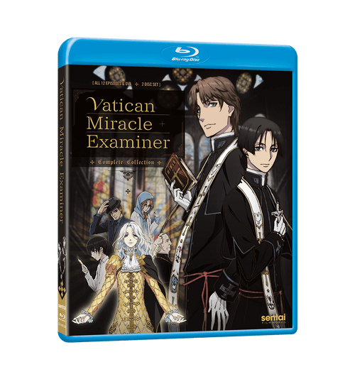 Vatican Miracle Examiner Complete Collection Blu-ray Front Cover