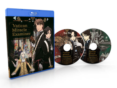 Vatican Miracle Examiner Complete Collection Blu-ray Disc Spread