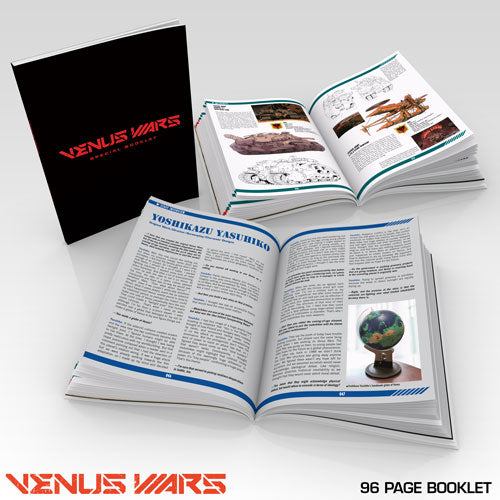 Venus Wars Booklet