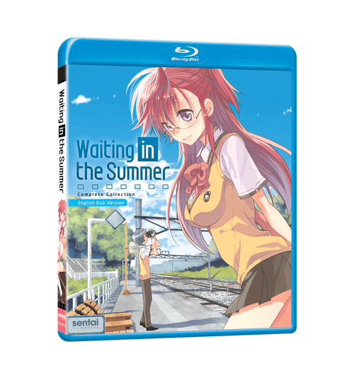 Waiting in the Summer Complete Collection Blu-ray Front Cover