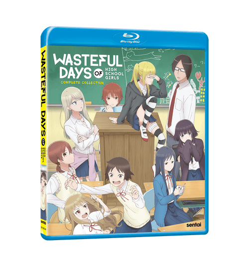 Wasteful Days of High School Girls Complete Collection Blu-ray Front Cover