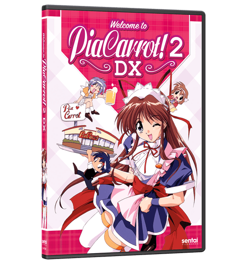 Welcome to Pia Carrot! 2 DX Complete Collection DVD Front Cover