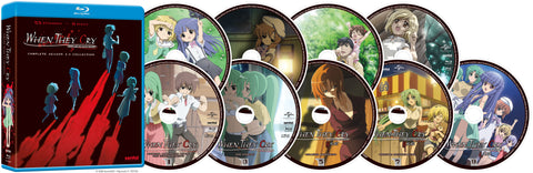 When They Cry Complete Series Blu-ray Disc Spread