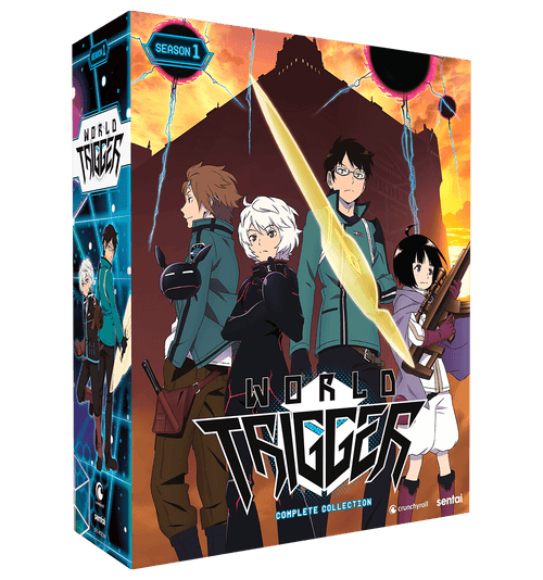 World Trigger Season 1 Complete Collection Blu-ray Front Cover