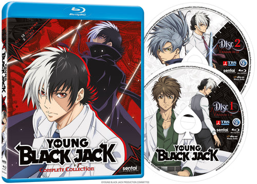 Young Black Jack Complete Collection Blu-ray Disc Spread