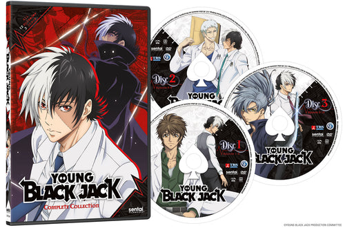 Young Black Jack Complete Collection DVD Disc Spread