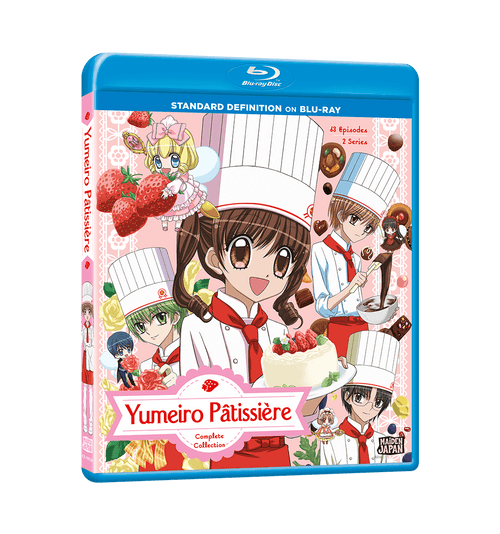 Yumeiro Pâtissière Complete Collection SD Blu-ray Front Cover