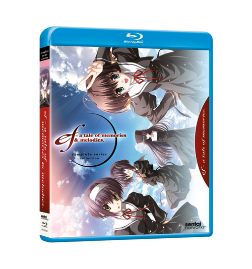 ef ~ a tale of memories & melodies Complete Collection Blu-ray Front Cover