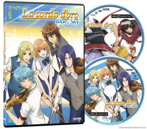 La Corda d'Oro Blue Sky Complete Collection - Sentai Filmworks - anime - 5