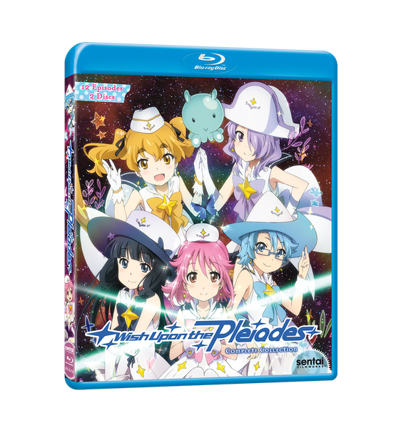 Wish Upon the Pleiades Complete Collection Blu-ray Front Cover
