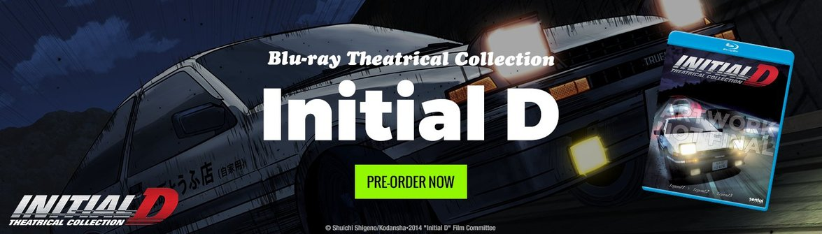 Pre-Order the Initial D Legend Theatrical Collection Today!