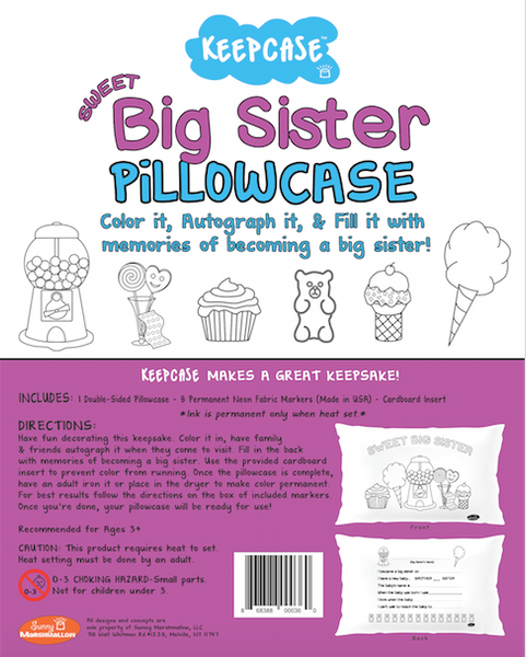 BIG SISTER KEEPCASE PILLOWCASE