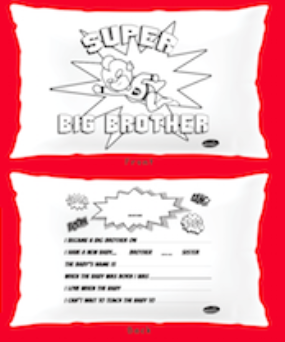 BIG BROTHER KEEPCASE PILLOWCASE
