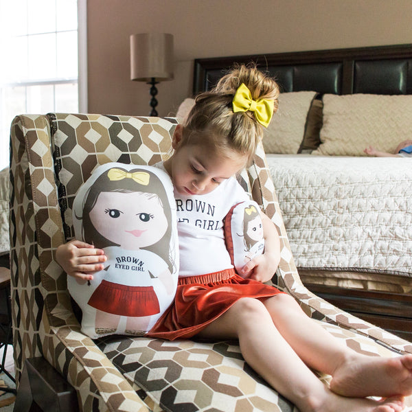 The Duo - custom designed pillow doll set