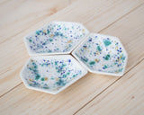Small Geometric Ring Dish - Set - Seawind - Clarke Collective - 2