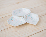Small Geometric Ring Dish - Set - Sprinkles - Clarke Collective - 2