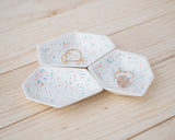 Small Geometric Ring Dish - Set - Sprinkles - Clarke Collective - 1