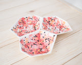 Large Geometric Ring Dish - Set - Poppy - Clarke Collective - 2