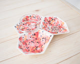Large Geometric Ring Dish - Set - Poppy - Clarke Collective - 1