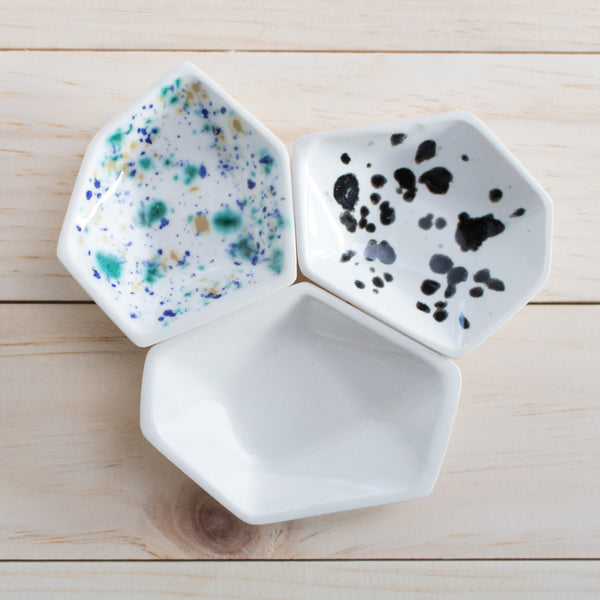 Mix & Match Geometric Small Ring Dish Set - Clarke Collective - 1