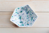 Large Geometric Ring Dish - Individual - Seawind - Clarke Collective - 2