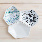 Mix & Match Geometric Large Ring Dish Set - Clarke Collective - 4