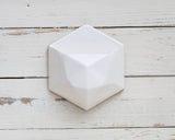 Geometric Wall Planter White - Clarke Collective - 2