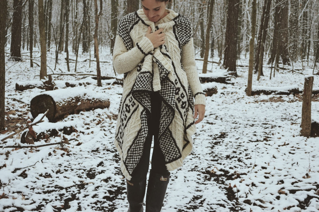 Boho Throw Cardigan