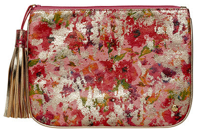 Chelsea Pink - Large Flat Pouch
