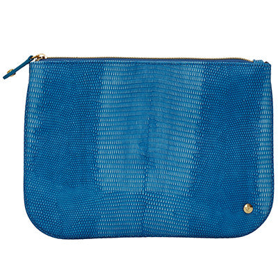Denim Large Flat Pouch