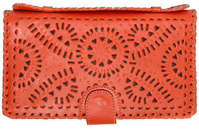 Mexicana Clutch - Burnt Orange