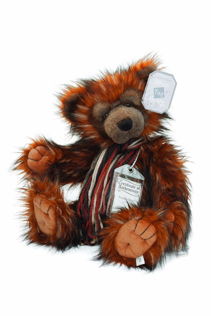Silver Tag Series 2 Freddie Bear Collectible Limited Edition Teddy from Suki