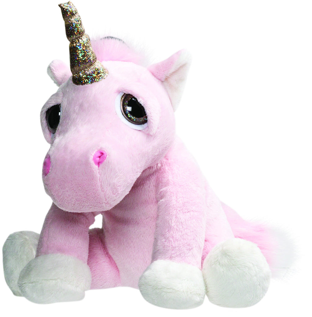 Li'l Peepers Medium Pink Twinkle Unicorn 30cm From Suki