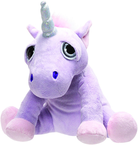 Li'l Peepers Medium Lilac Shimmer Unicorn 30cm From Suki