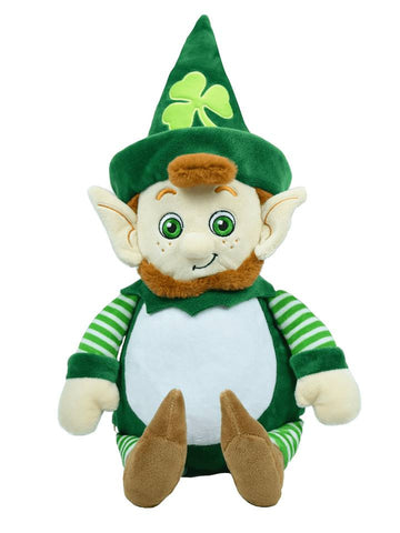 Leprechaun Mick Chevious Personalised Cubby - St Patricks Day