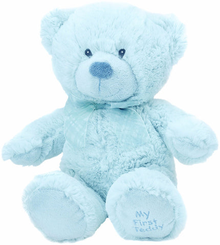 Blue Medium Bear (My First Teddy on paw) Collectible Teddy from Suki