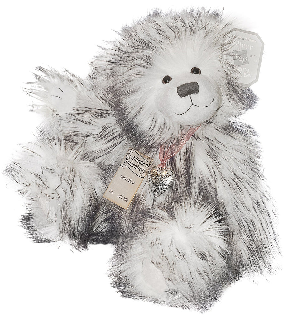 Silver Tag 3 Emily Bear Collectible Limited Edition Teddy from Suki