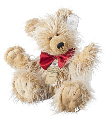 Silver Tag 3 Sid Bear  Collectible Limited Edition Teddy from Suki