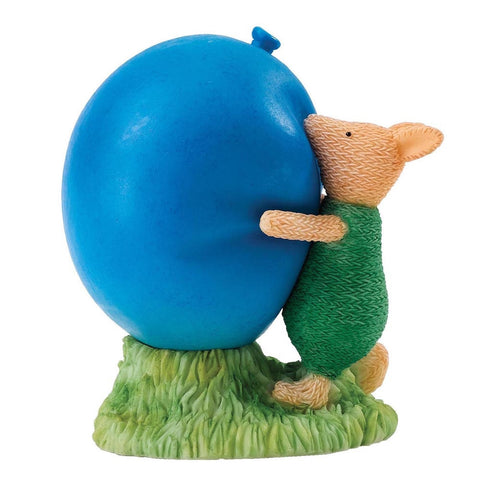Classic Pooh 1-Piece Piglet with Balloon Figure