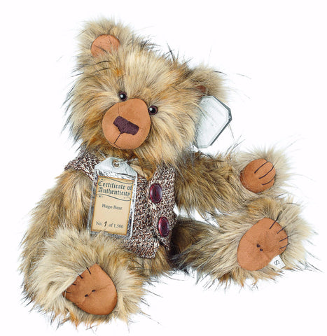 Silver Tag 4 Hugo Bear Collectible Limited Edition Teddy from Suki