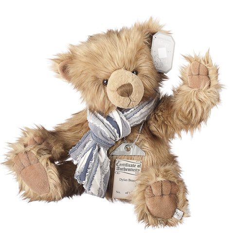 Silver Tag 3 Dylan Bear Collectible Limited Edition Teddy from Suki