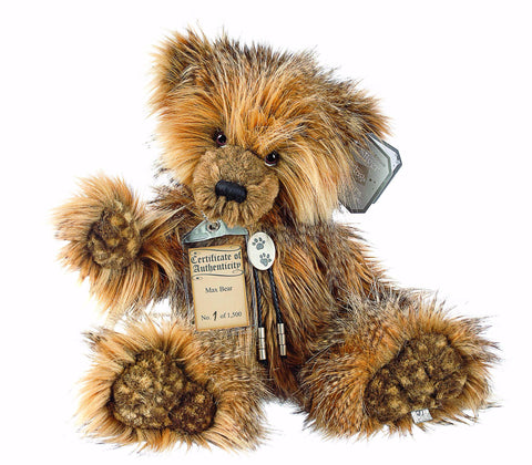 Silver Tag 4 Max Bear Collectible Limited Edition Teddy from Suki