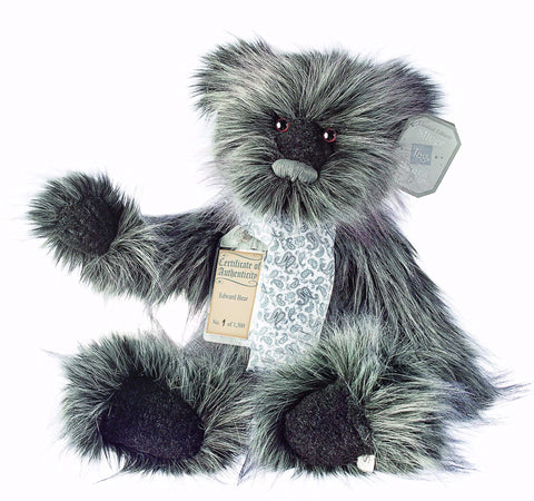 Silver Tag 4 Edward Bear Collectible Limited Edition Teddy from Suki